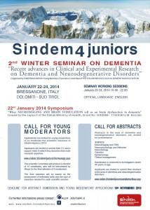 Sindem4juniors JANUARY 22-24, 2014 Cusanus Academy - Piazza Seminario 2, 39042 BRIXEN (BZ), ITALY