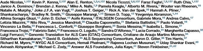 ricercatori SLA